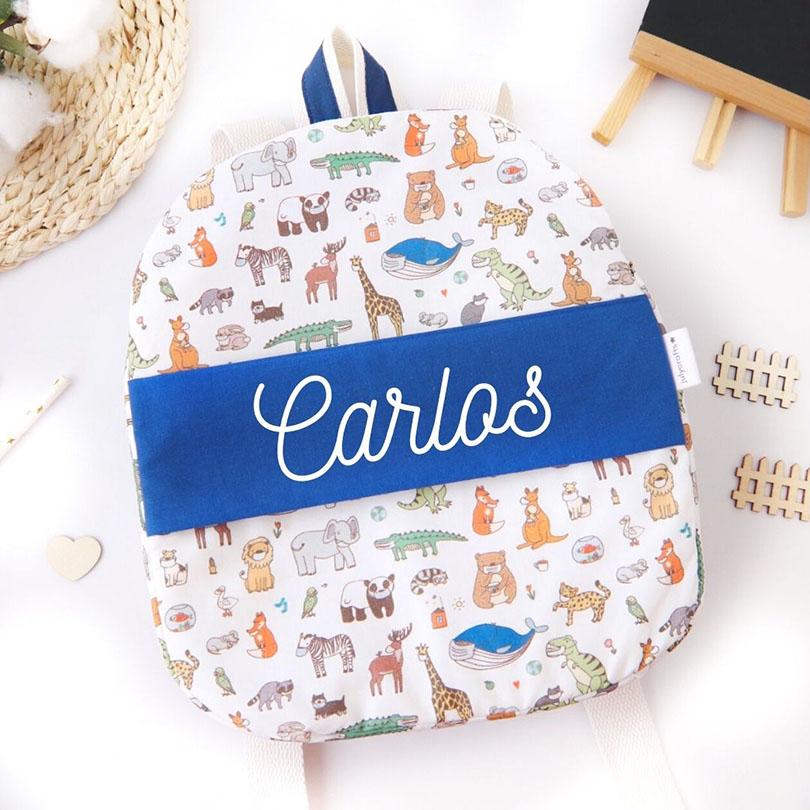 mochila infantil para guarderia mochila regalo de nacimiento mochila personalizada julycrafts ciudad real cremallera